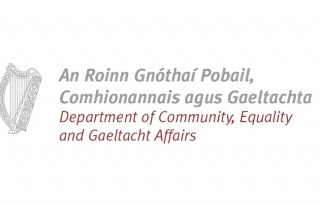 Department of Gaeltacht Affairs Logo Conference Management Go West