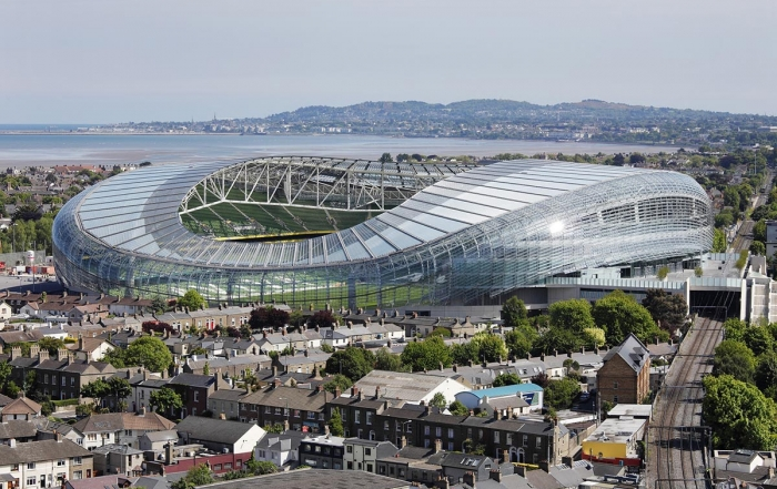 College Football at Aviva Stadium
