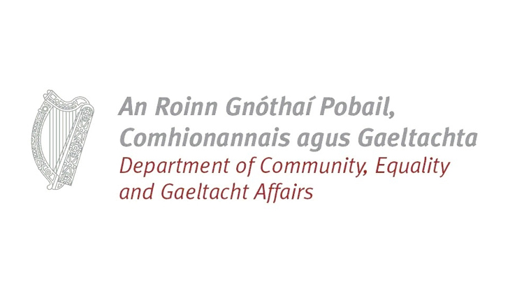 Department of Community, Rural and Gaeltacht Affairs logo