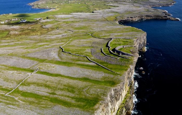 Vacation in Ireland at Aran Islands
