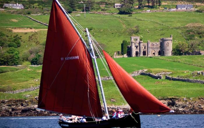Galway Hooker Boat Vacation in Ireland