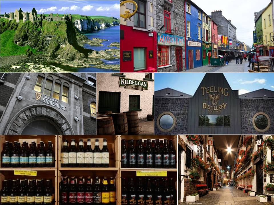 Craft Beer & Whiskey in Ireland Image