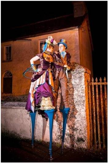Stilt Walkers Conference Entertainment Options