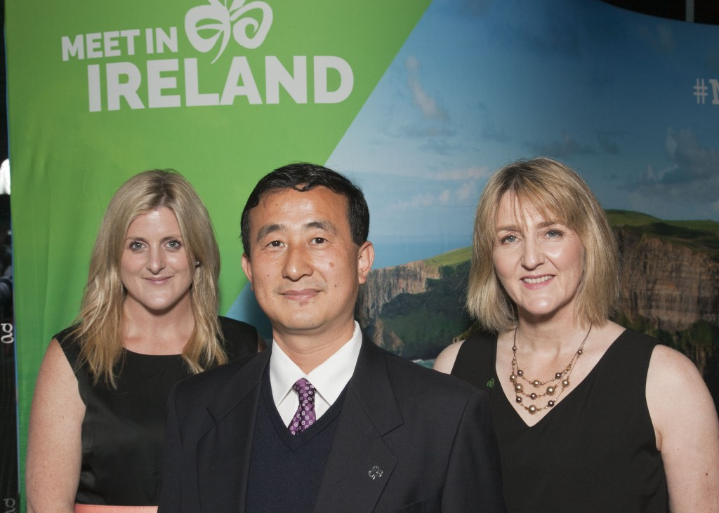 Letitia Wade, Chaosheng Zhang & Kerry O'Sullivan Go West Dinner at the G Hotel